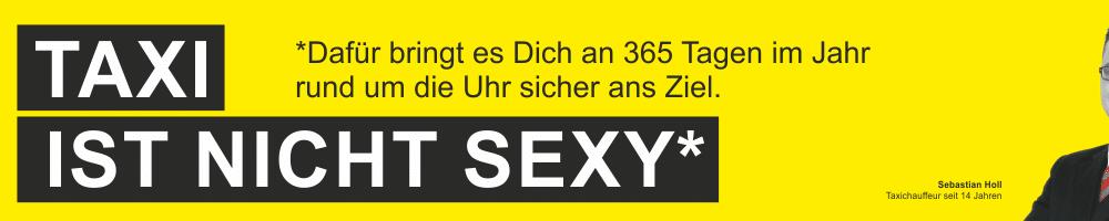 Taxi ist nicht sexy